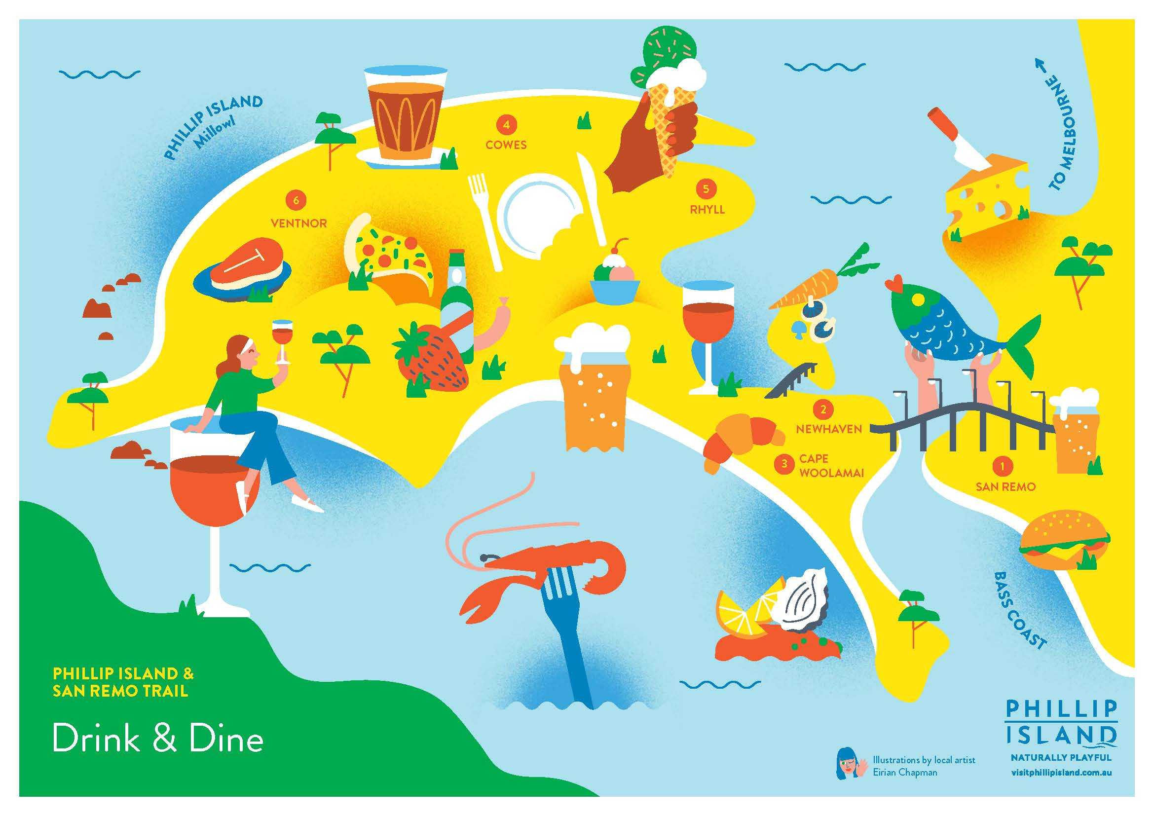 Phillip Island Drink and Dine Trail