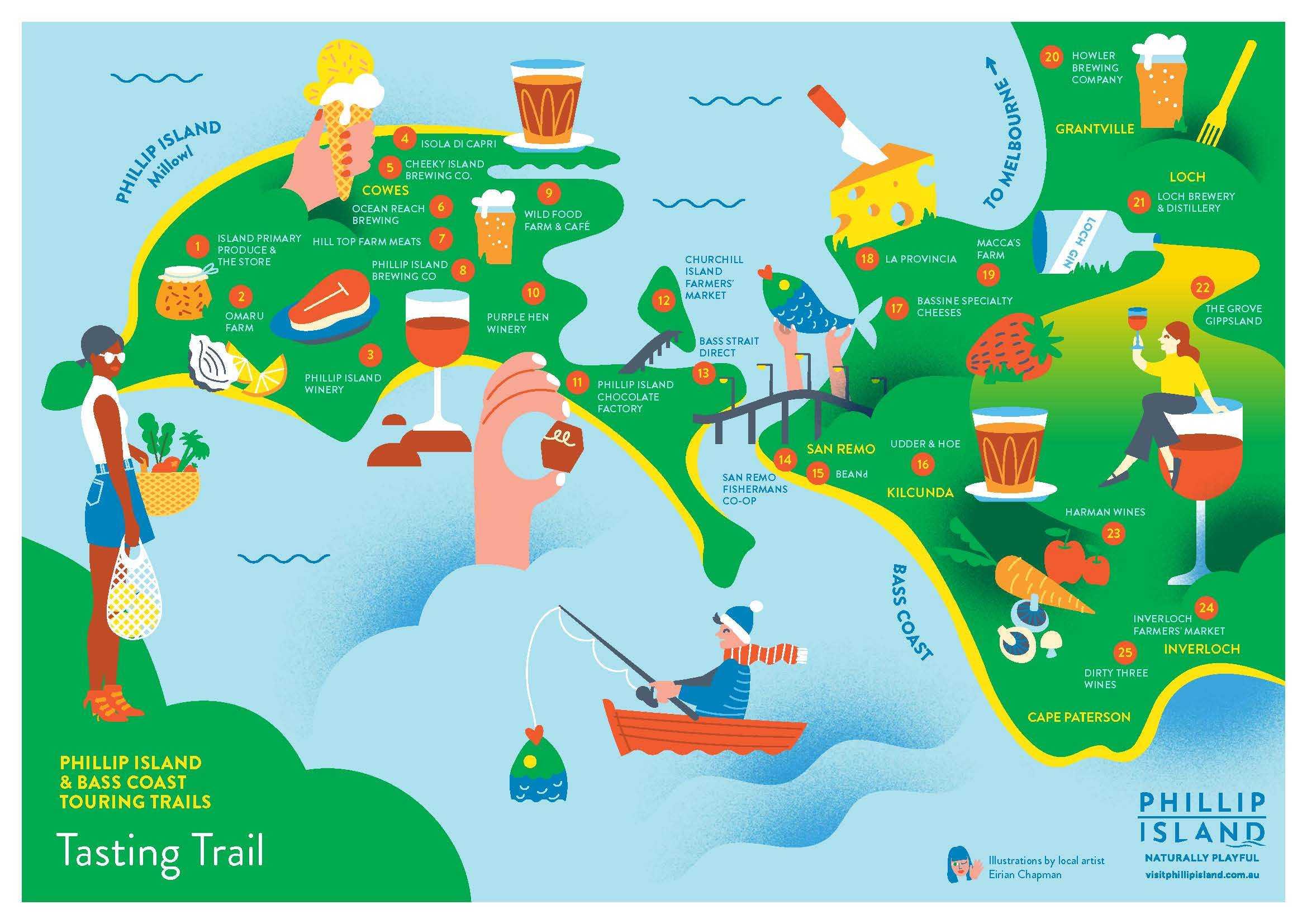 Phillip Island and Bass Coast Tasting Trail